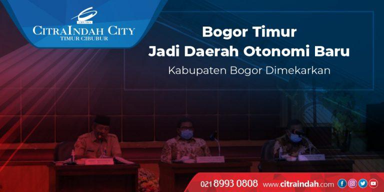 CitraIndah City Pemekaran Bogor Timur