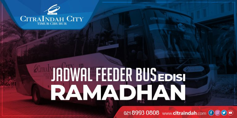 jadwal feeder bus CitraIndah City edisi Ramadhan